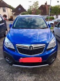 Vauxhall Mokka 1.6 Exclusive 2014 Blue Metallic Paint.