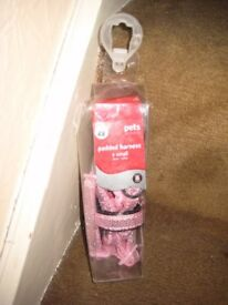Brand New Extra Small Pink Pet Padded Harness