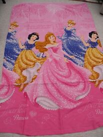 Disney princess single duvet cover and pillowcase
