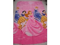 Disney princess single duvet cover and pillowcase