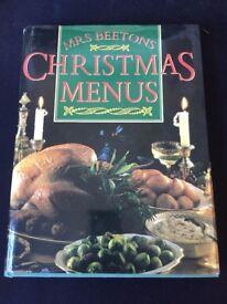 Christmas Menus Book