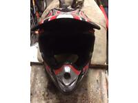 Motorcross bike helmet for sale