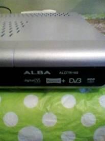 Alba free view recorder with remote.