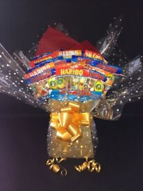 Chocolate bouquets ideal for Christmas, birthdays or any celebration