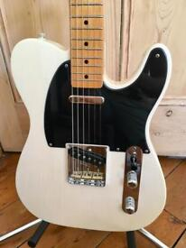 2003 Fender Classic 50's Telecaster with upgrades - White Blonde