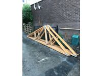 6 Roof Trusses 17ft