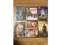 Brand new DVDs still sealed
