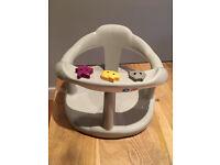 Thermobaby Aquababy Bath Seat, Grey