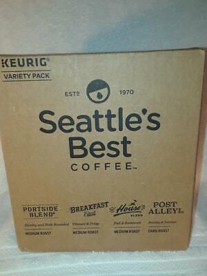 Seattle's Best Keurig Variety Pack k-cups pods Breakfast, House