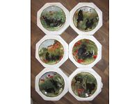 DAVENPORT- IT'S A CAT'S LIFE LIMITED EDITION PLATES