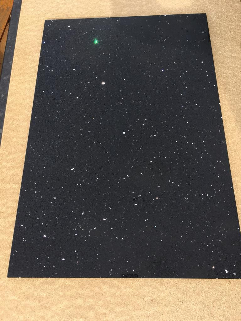 Quartz Black Mirror Chip Sparkle Floor Wall Tiles In