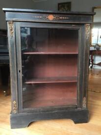 Antique cupboard display
