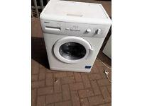 white Beko washing machine