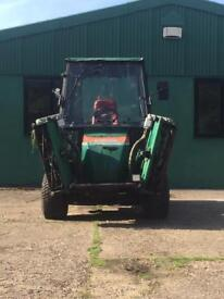Ransome Parkway triple gang mower 4x4
