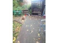 quality used decking for quick sale plus lovely garden seating house move forces sale