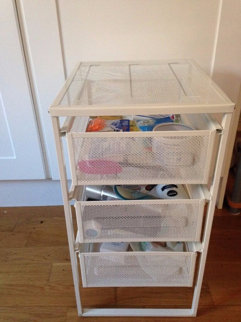 Drawer Unit White Lennart From Ikea In Acton London