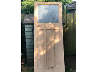 Original Edwardian Solid Wood Door