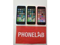 APPLE IPHONE 5C 8GB FACTORY UNLOCKED COMES WITH A FREE £10 EE SIM CARD