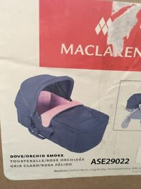 Maclaren techno xlr carrycot New