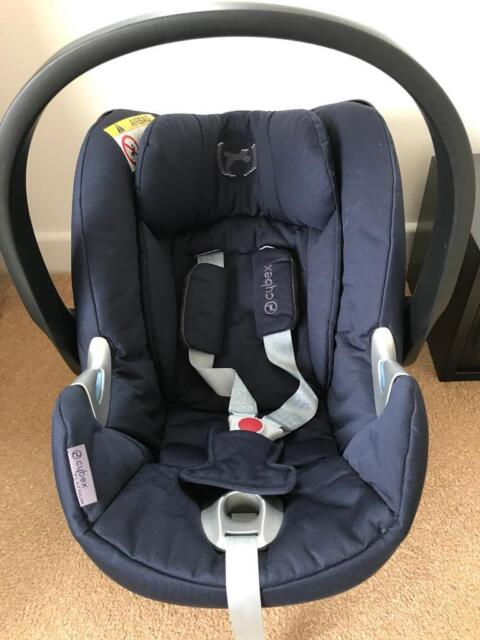 Cybex Aton Car Seat Platinum In Navy 6 Months Old Cost 250 In Castledawson County Londonderry Gumtree