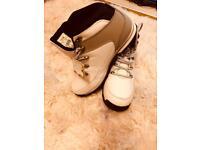 Firetrap boots white size 7