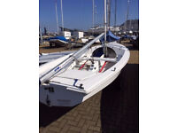 Wayfarer World dinghy with every accessory - out of season bargain