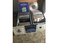 Record collection for sale .