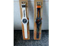 Pair of SUPERDRY Urban gents watches