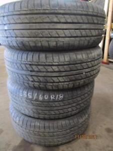 235/60R17 3 ONLY USED michelin  ALL SEASON TIRES