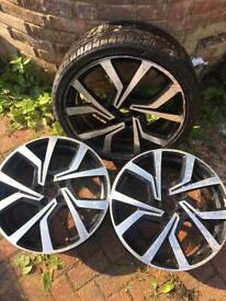 VW GOLF MK 7 Brescia alloys set of 3