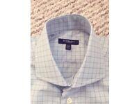 Burnerry shirt for men, Blue, 100% cotton