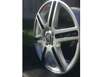 "x4 Genuine Mercedes-Benz Alloys 18"""