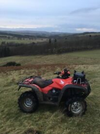 Honda Foreman 500, 2013 Plate, great condition