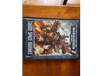 Warhammer Chaos space marine codex