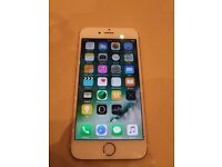 Iphone 6s used 16gb rose gold factory unlocked still on warranty