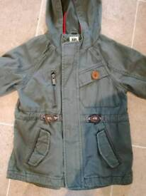 Boys khaki jacket, age 4