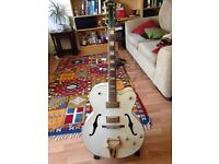 White Shine Semi Acoustic Guitar - all offers considered!