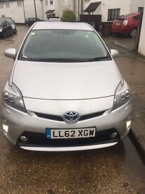Toyota Prius 62(13) plate TSpirit,PCO July 18 half lathr,100180 miles,full history, 1 owner,silver