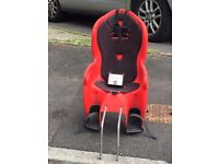 Halford's Baby seat to be attached to Adult Bike