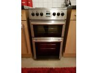 Beko Freestanding 50cm Double Oven Electric Cooker DV555