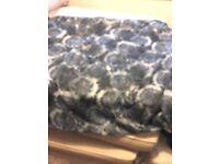 Multi blue ladies scarf by H&M