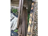 Used decking and spindles free
