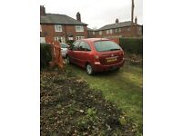 Citroen Picasso 2.0 hdi cheap tax