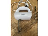 Cookworks basic hand mixer, 250watts