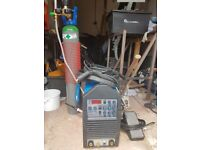 AC/DC TIG welder and accessories