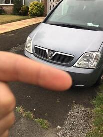 Vauxhall meriva 05 spares or repairs
