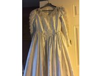Vintage Halloween wedding dress