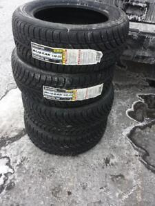 BRAND NEW WITH LABELS ULTRA HIGH PERFORMANCE BRIDGESTONE WINTER TIRE 205 / 55 / 16 SET OF FOUR.