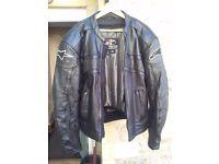 Alpinestars Leather Motorcycle 2 piece (Jacket/ Trousers) Black