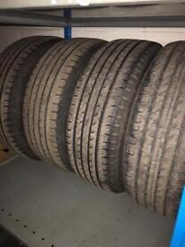 "17"" tyres 4x4"